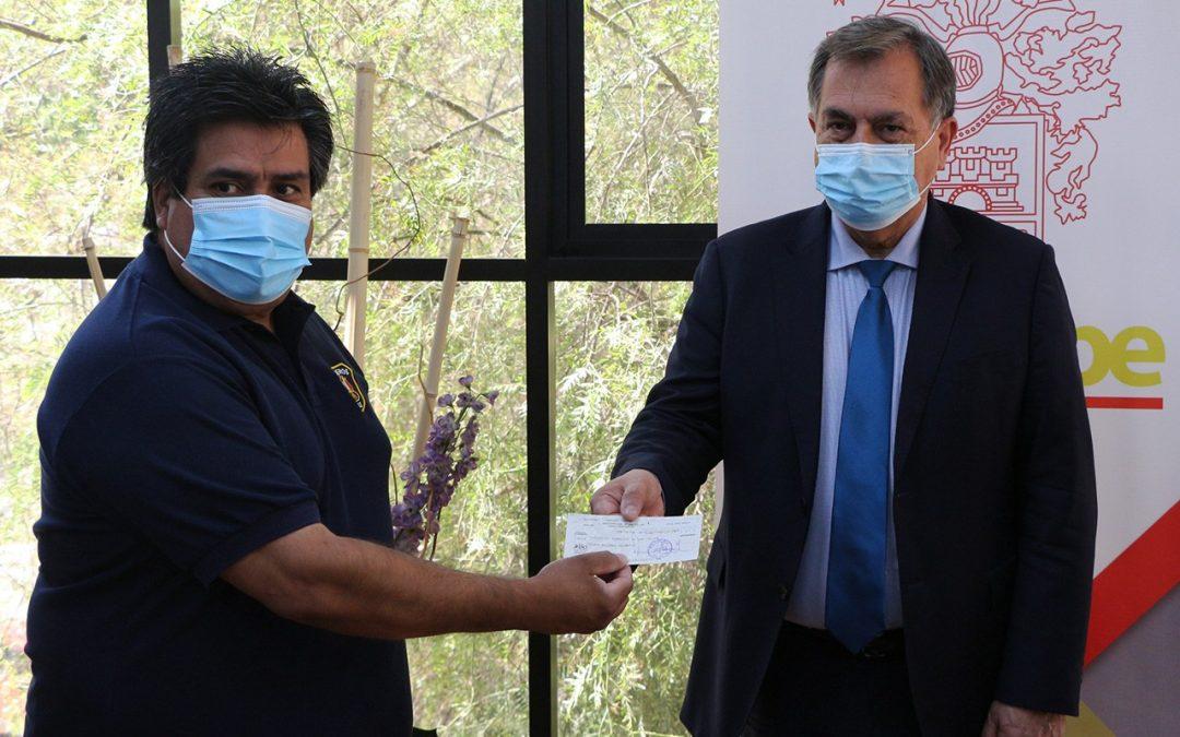 Segunda cuota: Municipio de san Felipe entregó $20 millones a Bomberos