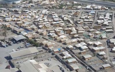 Bomberos advierte sobre consecuencias de registrarse un incendio en mega Toma de Tacna Sur en San Felipe
