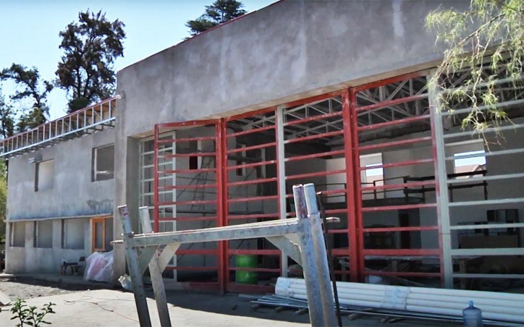 Municipio de san Felipe asignará una nueva empresa para finalizar construcción de cuartel de la Quinta Compañía de Bomberos