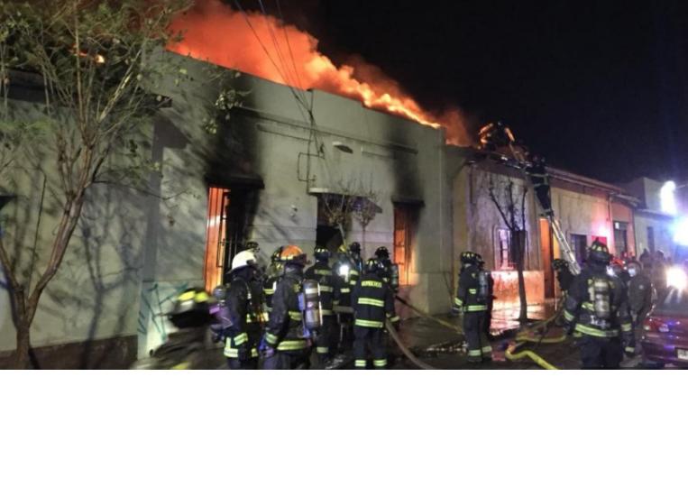 Incendio en hogar de ancianos deja seis adultos mayores fallecidos